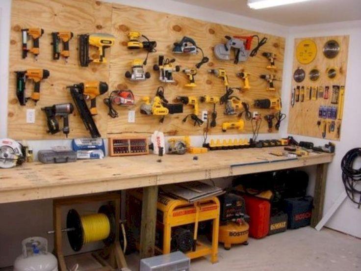 rangement outil garage