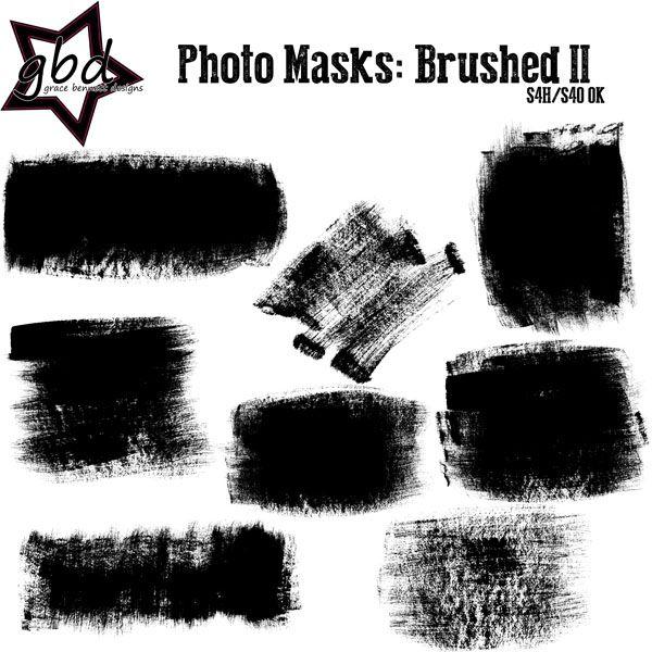 Photo Masks: Brushed II