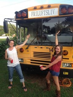 They Bought A Big Yellow Bus For $2000, And Made It Into Something Incredible http://tinyhousefor.us/rvs-trailers/big-yellow-bus-conversion/