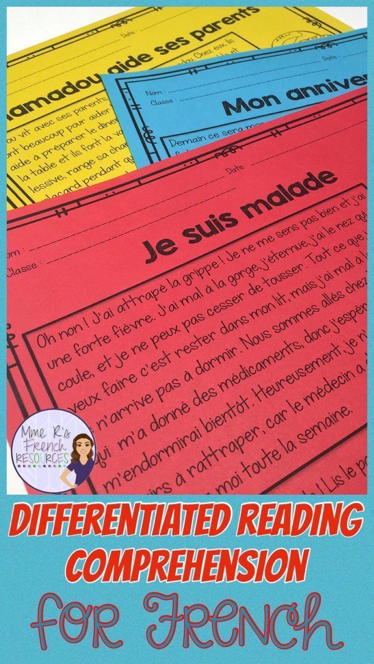 medium resolution of French reading comprehension   Reading comprehension