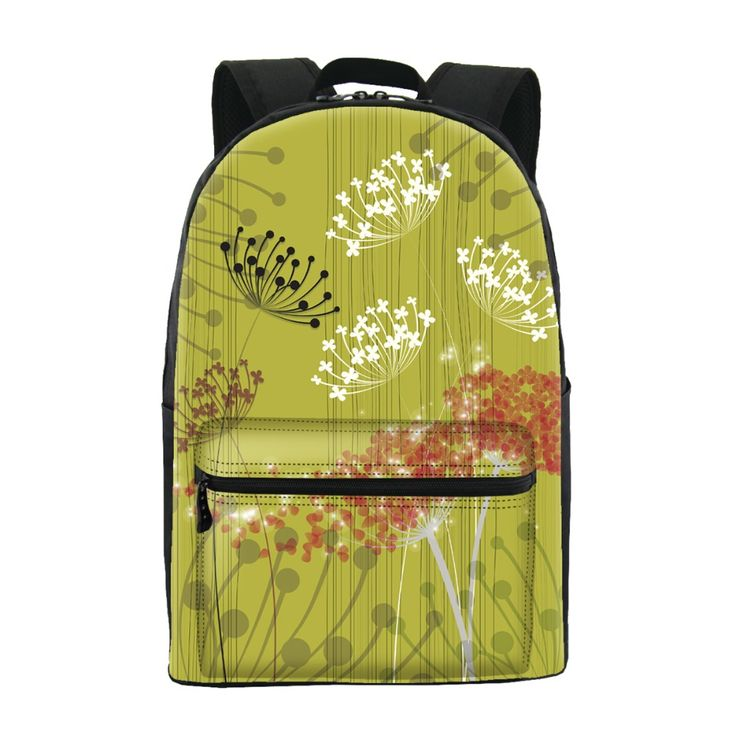 ONE2 Design New polyester backpacks for teenage girls beautiful Plain colour backpack women mochila casual shoulder school bag