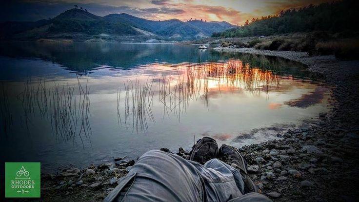 Camping Gadouras Dam Rhodes isl. #RhodesOutDoors