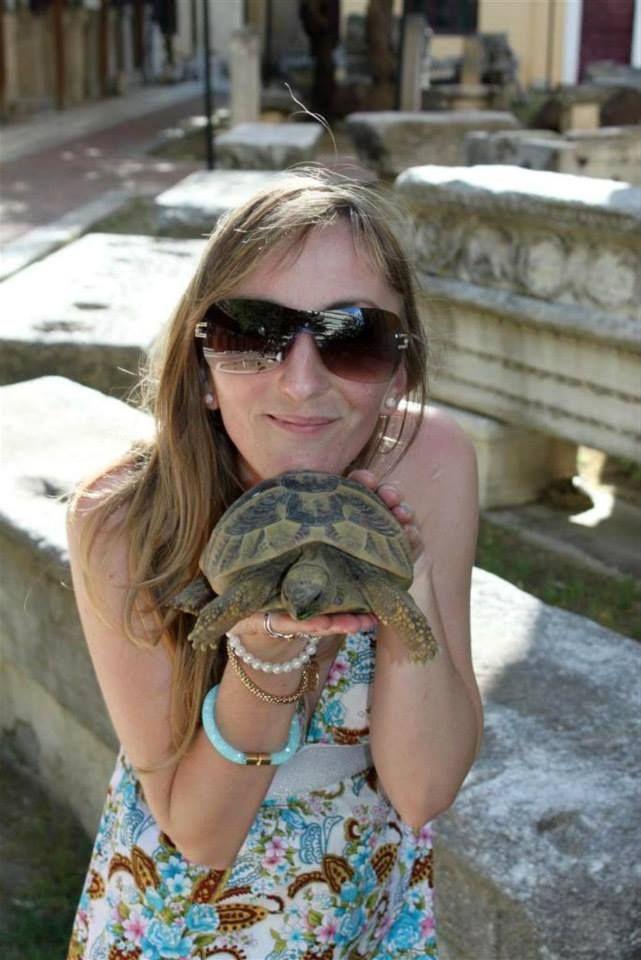 #turtle #blondegirl #sunglasses #summer * Anita Kostopoulou Photography *