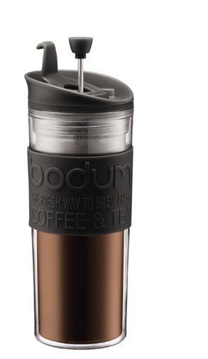 ¿Te gusta tu café para llevar? Este termo incluye una prensa francesa dentro, sólo agrega cafe y agua, baja el embolo y llévalo contigo a todas partes. #termo #bodum #cafe #prensa  Enviamos gratis a cualquier parte de México. Visitanos en www.cafedelola.com