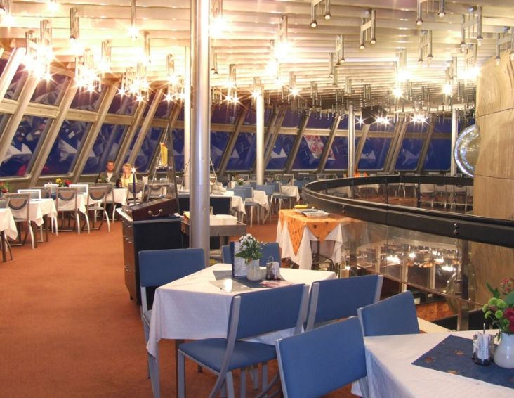 Hotel Jested ~ Restaurant ~ Czech Republic