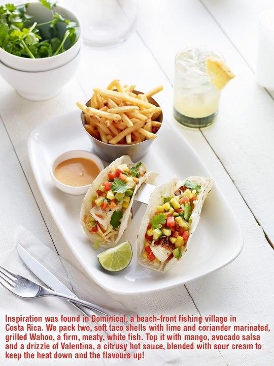 Earls Restaurants' Dominical Fish Tacos!