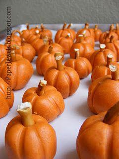 peanut butter pumpkins.