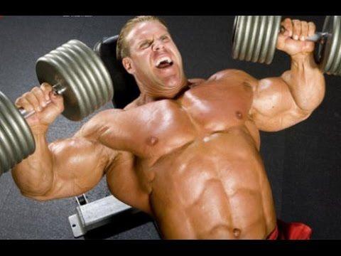 Jay Cutler - Building a big chest
