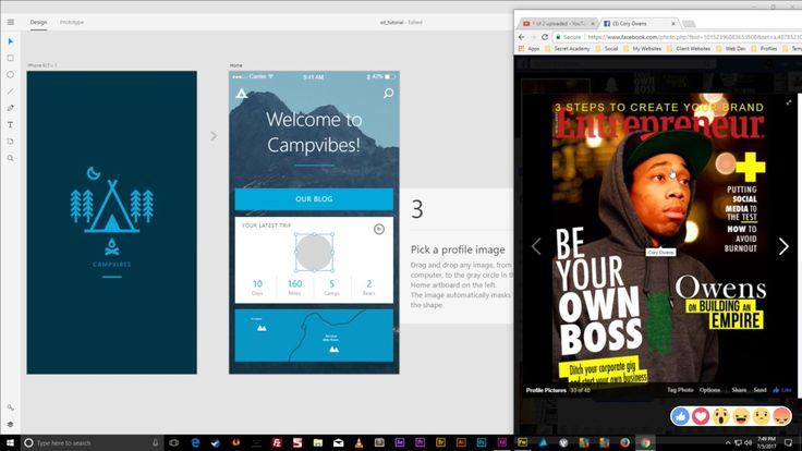 Let's Design Tinder App Prototype [app video 2] https://youtu.be/DCHfsxeQx0s