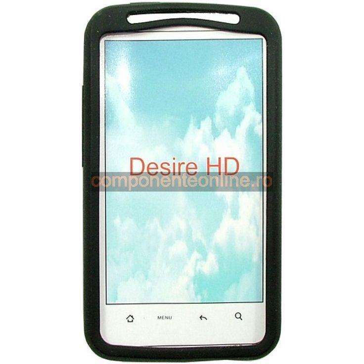 Husa protectoare din silicon pentru HTC Desire HD - 132133