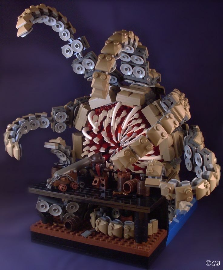 """""""Hello Beastie"""" The Kraken from Pirates of the Caribbean"""