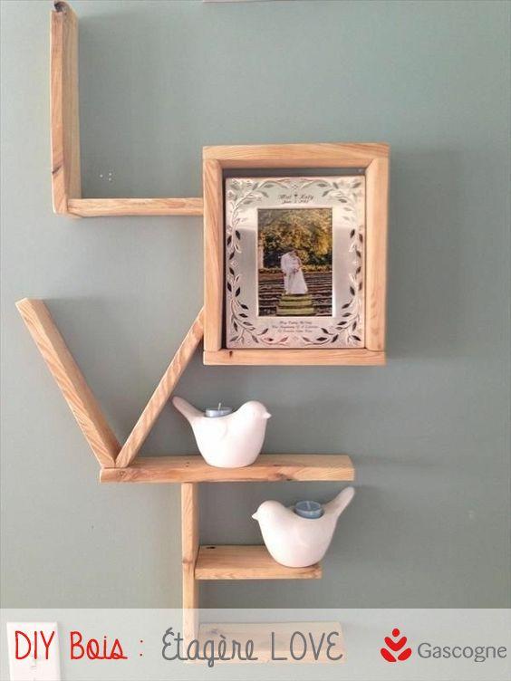 83 best DIY en bois images on Pinterest Home ideas, Living room
