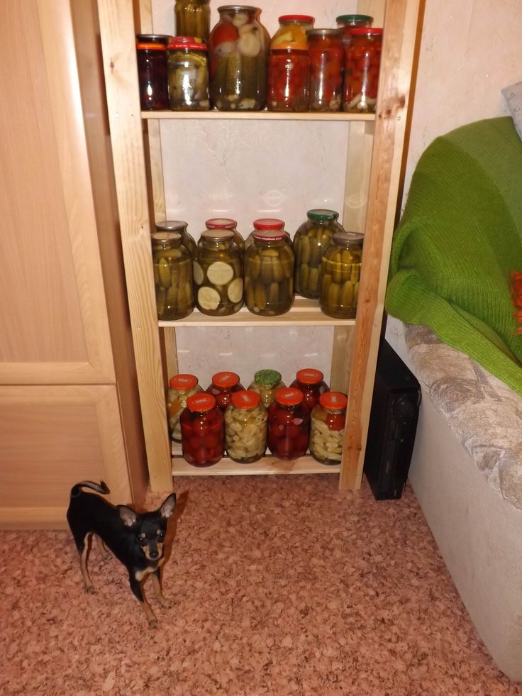 Summer in glass jars. :) Under protection.