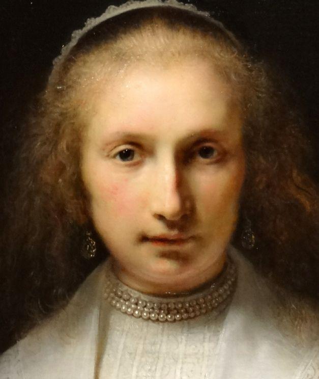 Rembrandt van Rijn (1606-69) Agatha Bas (1611-58), 1641