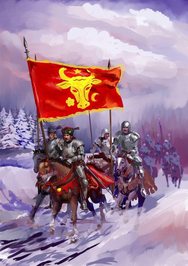 WIP Moldavian warriors by Nikuloki (Sergiu Niniku) Ostasi moldoveni. Молдавские воины.