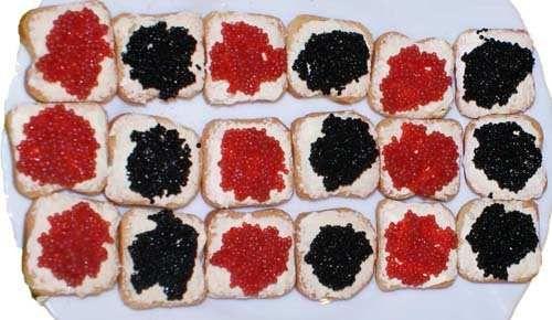 Caviar O Huevas De Lumpo