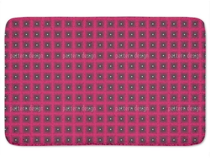 Memory Foam Standard Stylish Waffles in Pink Bath Mat Non Skid Latex 17x24 Inch #BathMat #MemoryFoamMat #StylishMat #BathRug #SoftMat #DoorMat #Mat #Rug #SkidResistant #NonSlip #Home #Kitchen #Bathroom #Bath #PinkMat