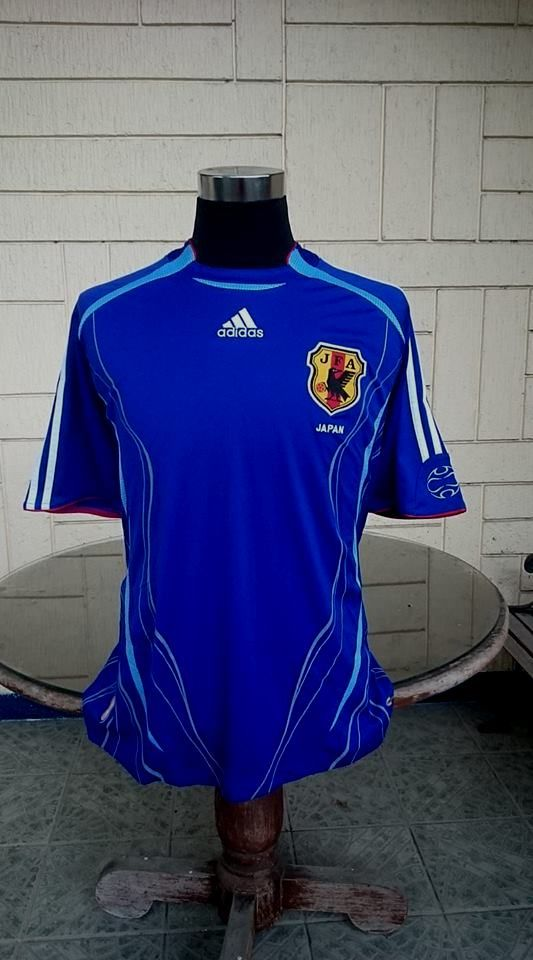 6c8bcc123 JAPAN 2006 WORLD CUP HOME JERSEY ADIDAS SHIRT LARGE ジャージーシャツ ...