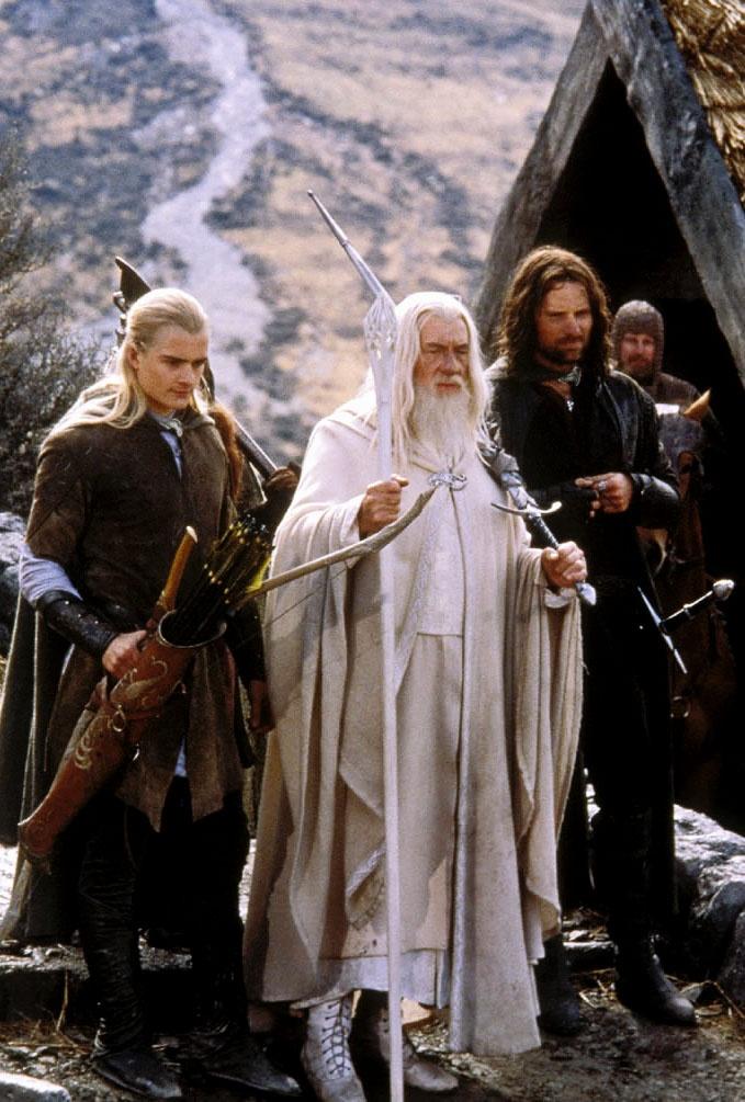 Legolas, Gandalf and Aragorn ~ Lord of the Rings