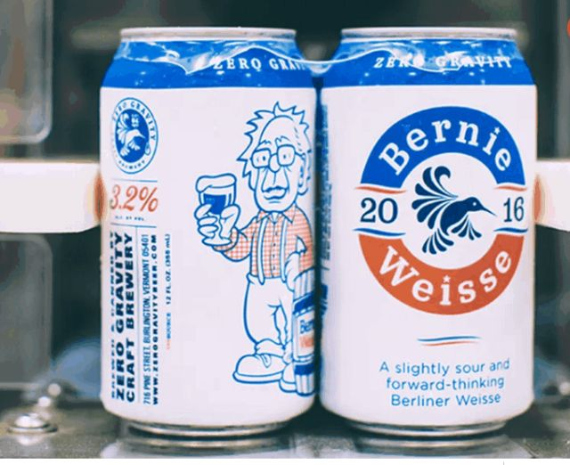 Vermont Craft Brewery Dedicates A 'Bernie Weiss' Beer To Bernie Sanders