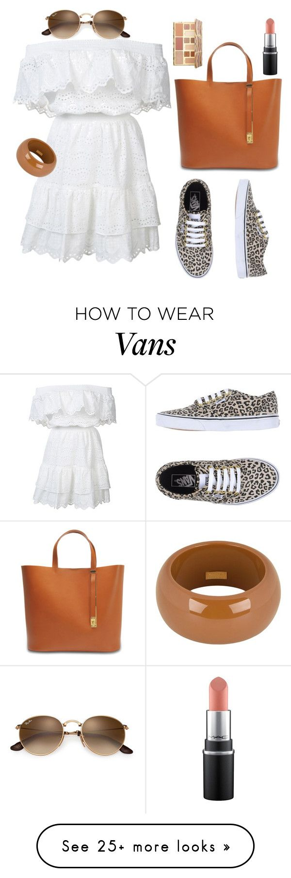 """""""Untitled #312"""" by ladybunny88 on Polyvore featuring Vans, LoveShackFancy, Sophie Hulme, Dsquared2 and Sephora Collection"""
