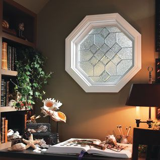 Decorative Glass Octagon