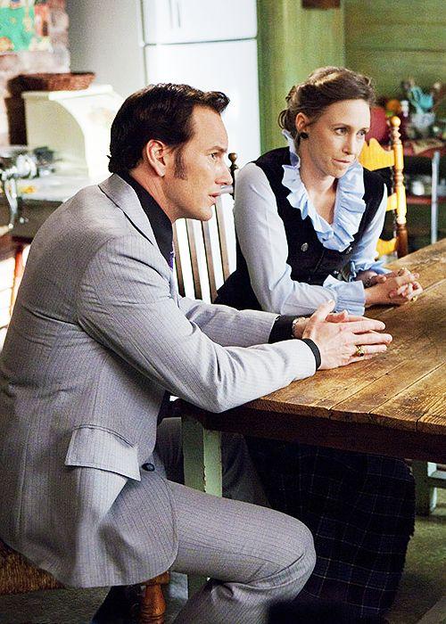 cinyma:  Vera Farmiga & Patrick Wilson as Ed and Lorraine Warren in The Conjuring (2013)