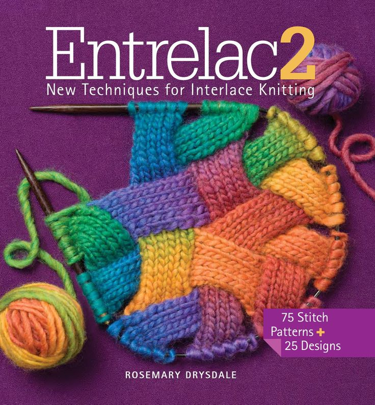 Entrelac 2  Dedicated knitters will find a fresh, fun challenge in this follow-up to Rosemary Drysdale's bestselling Entrelac. Filled with 85 all-new stitch patterns for creating texture in fabric, Drysdale's innovative collection takes this hot new needlework craze to the next level. Advanced beginners and intermediates can try their hand at everything from cables, lace, and relief stitches to circles, triangles, and never-before-seen interpretations, along with 25 patterns for beautiful…