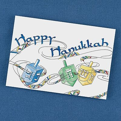 22 best jewish holiday cards images on pinterest fine stationery the symbols of hanukkah are shown on these colorful dreidel inspired card invitation cardsparty invitationshanukkahholidays m4hsunfo Image collections