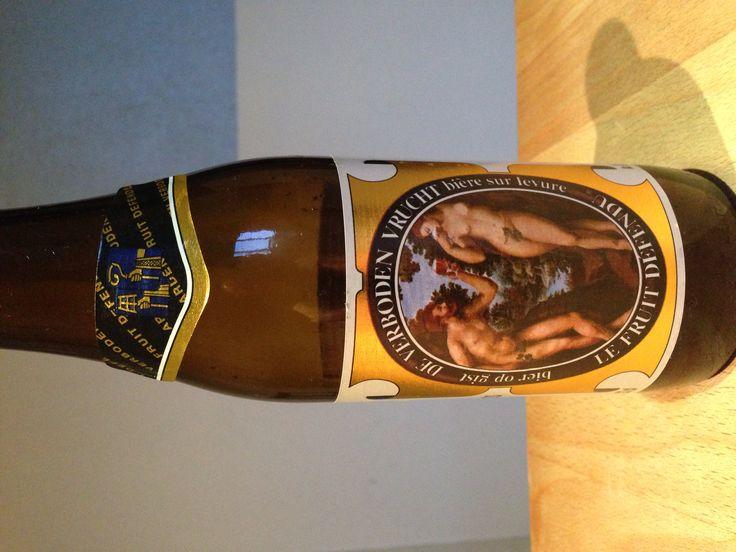 Hoegaarden - De verboden vrucht  33cl, 8,5% InBev Brouwerij de Kluis