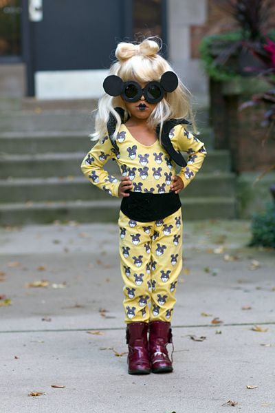 DIY Lady Gaga costume for the littlest Little Monsters | Offbeat Families