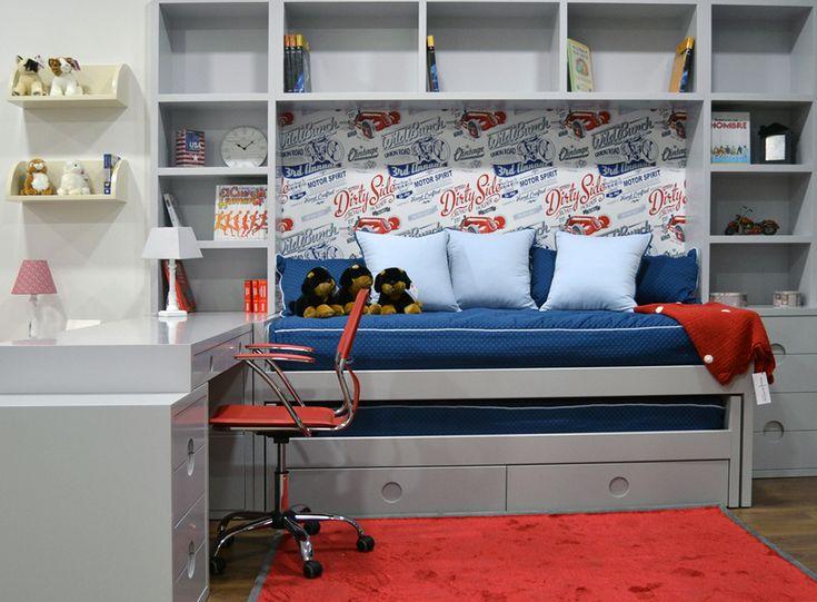 Mejores 50 imágenes de Dormitorios infantiles y juveniles en ...