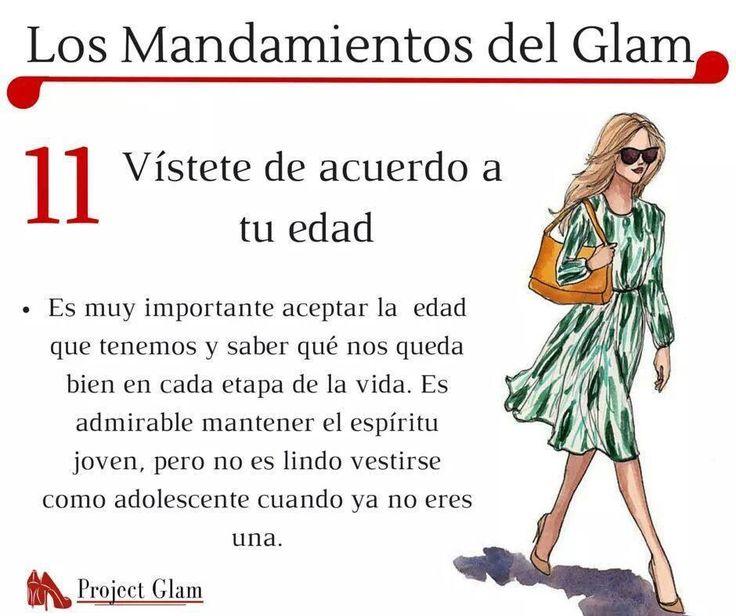 Mandamientos Glam