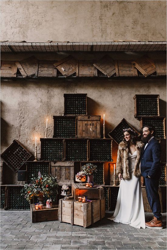 Industrial Rustic Wedding Ideas via @weddingchicks