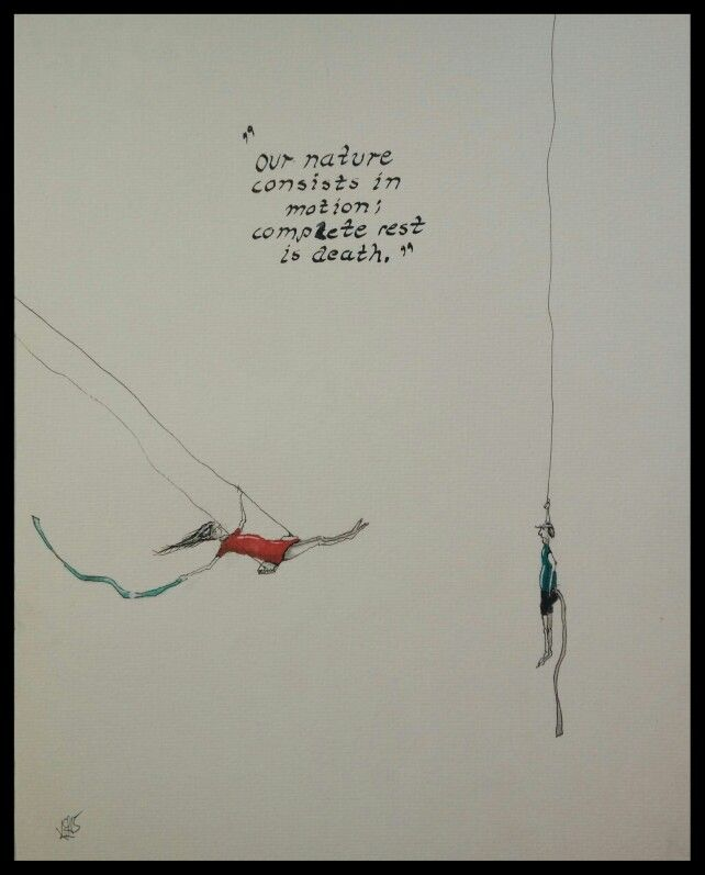"""Motion;"" Drawings Art"