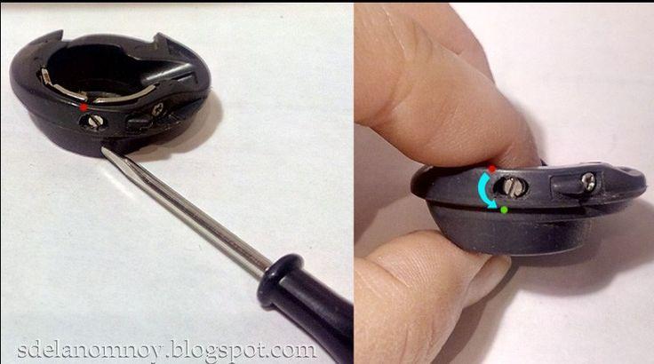 Настройка машинки для шитья двойной иглой