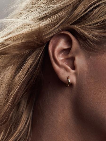 Plain Mini Ear Huggies – Rose Gold