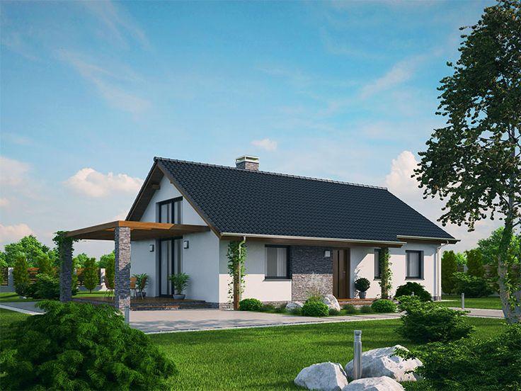 Katka 33 - dům Ekonomických staveb. Ekonomické stavby jsou největším českým a slovenským stavitelem rodinných domů. Kvalitní financování Vašeho bydlení. V katalogu 200 typových řešení.