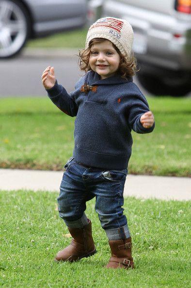 Rachel Zoe takes her son Skyler Morrison Berman to a friends house in West Hollywood