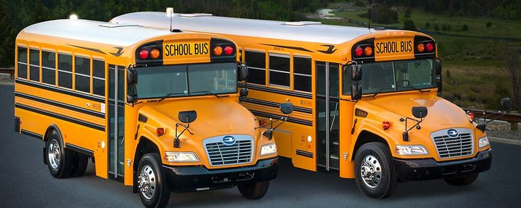 The Blue Bird All-American Vision School Buses