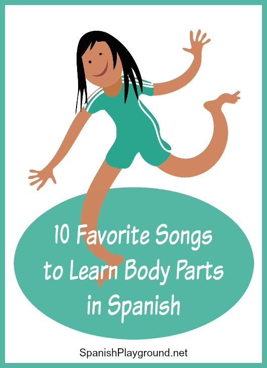 Spanish body parts songs use rhythm and movement to teach important vocabulary to bilingual kids. 10 favorites songs from top artists for kids to learn body parts in Spanish.