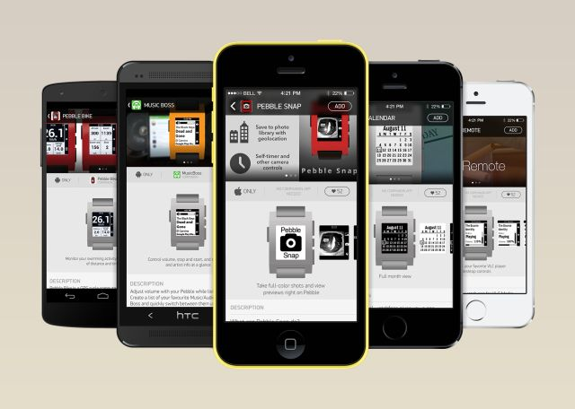 """Pebble's Official Appstore Coming """"Early 2014,"""" Will Be Built Into Android And iOS Pebble Apps 