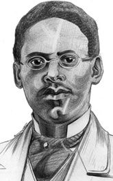 "Lewis Howard Latimer (1848-1928), inventor, he improved the light bulb invented by Thomas Edison by utilizing the more durable carbon filament.  He also developed the threaded socket.  His other patents include toilets for railroad cars, and a ""forerunner of the air conditioner"".  Source:  MIT School of Engineering"