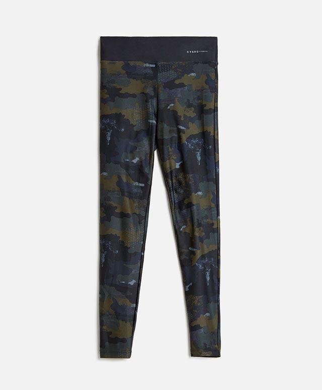 30€ Legging camuflaje tobillero - OYSHO