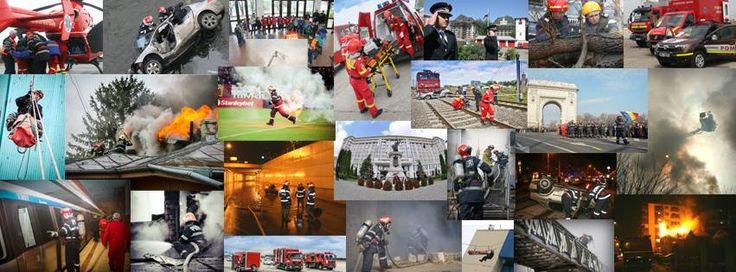 Activităti ale pompierilor romani