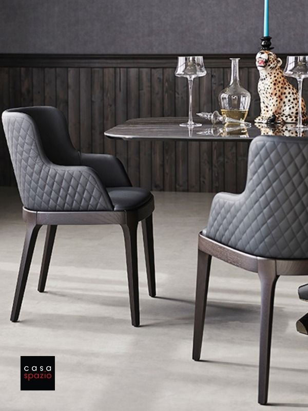 The Magda Dining Room Chair By Italian Furniture Brand Cattelan Is