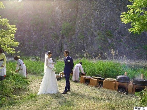 원빈, 이나영 부부 결혼식 사진 공개(눈부심 주의!)