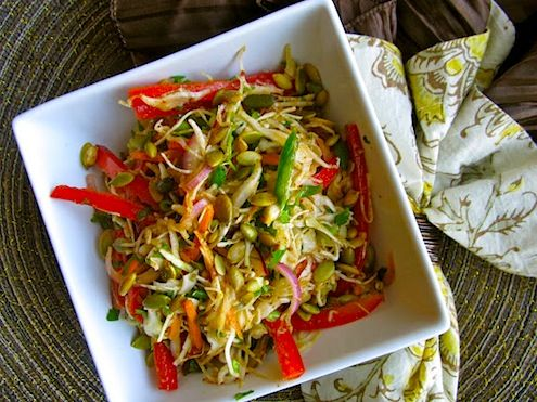 Mexican Slaw RecipeCole Slaw, Delicious Mexicans, Mexicans Food, Happy Food, Recipese Salad, Eating, Salad Obsession, Pepitas, Mexicans Slaw