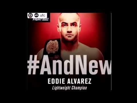 Eddie Alvarez new lightweight champion/Anderson Silva vsDaniel Cormier a...
