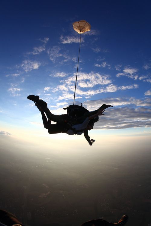 Scariest thing I have ever done but I would do it again in a heartbeat!!